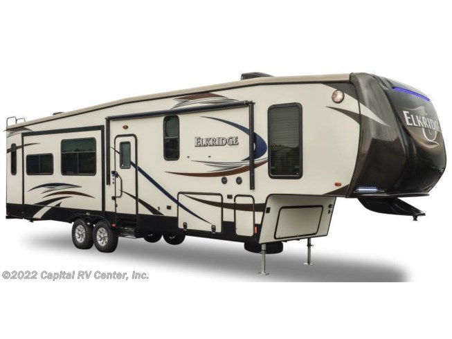 Stock Image for 2016 Heartland RV ElkRidge 39MBHS (options and colors may vary)