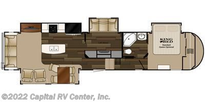 2016 Heartland RV ElkRidge 39MBHS floorplan image