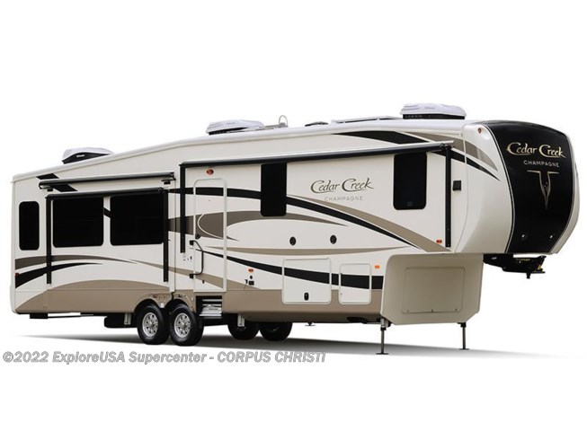 Stock Image for 2016 Forest River Cedar Creek Champagne Edition 38EL (options and colors may vary)