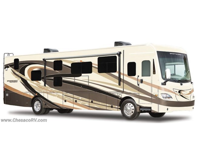 Stock Image for 2017 Coachmen Cross Country SRS 360DL (options and colors may vary)