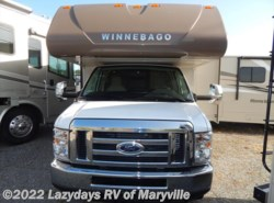 New 2017  Winnebago Minnie 327Q by Winnebago from Chilhowee RV Center in Louisville, TN