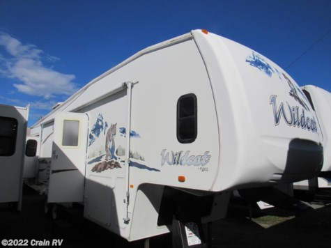 2006 Forest River Wildcat  32 QBSS BATH @ 1/2
