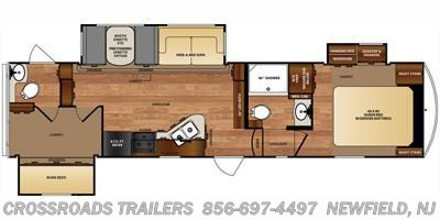 2016 Forest River Wildcat 31SAX floorplan image
