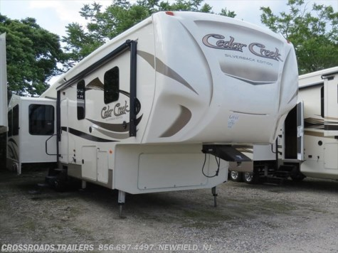 2017 Forest River Cedar Creek Silverback  35IK
