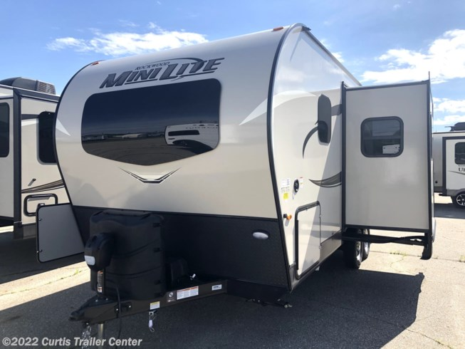 New 2021 Forest River Rockwood Mini Lite 2205S available in Schoolcraft, Michigan