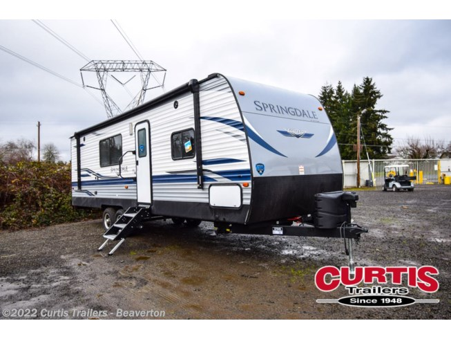 2021 Keystone Springdale 27TH - New Toy Hauler For Sale by Curtis Trailers - Beaverton in Beaverton, Oregon