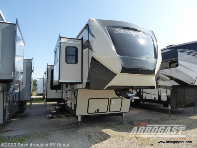 New 2020 Forest River Sandpiper 379FLOK available in Troy, Ohio