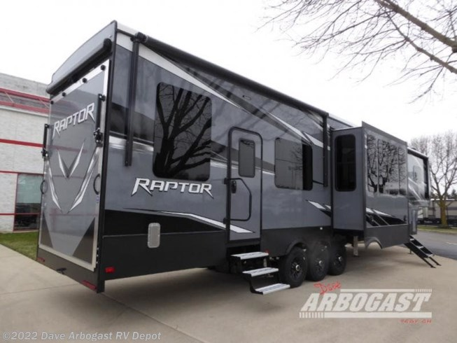 2020 Raptor 415 by Keystone from Dave Arbogast RV Depot in Troy, Ohio