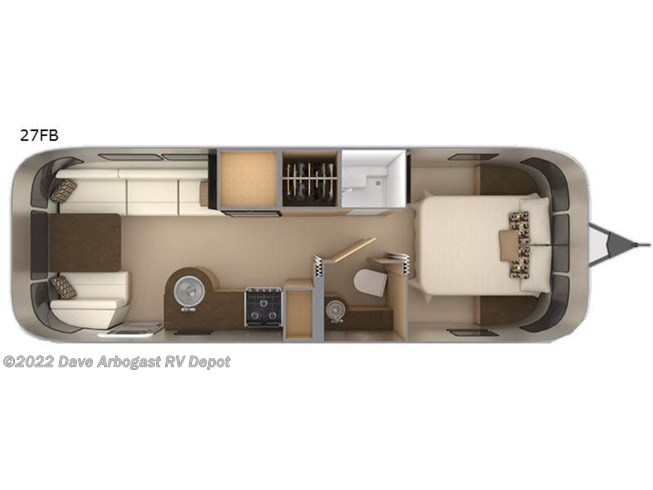 New 2021 Airstream Flying Cloud 27FB available in Troy, Ohio