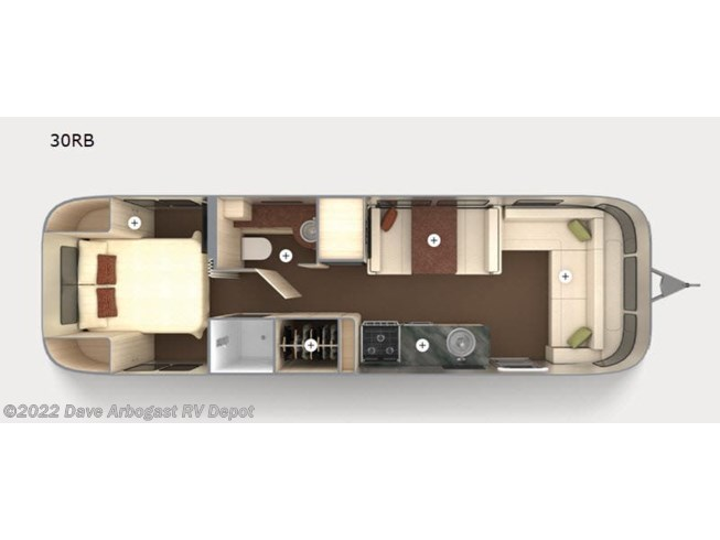 New 2021 Airstream International 30RB available in Troy, Ohio