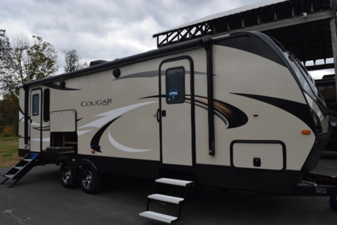 New 2019 Keystone Cougar Half-Ton 26RKS For Sale by Diamond RV Centre, Inc. available in West Hatfield, Massachusetts