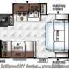 2017 Forest River Rockwood Mini Lite 2304KS floorplan image