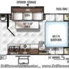 2019 Forest River Rockwood Mini Lite 2109S floorplan image