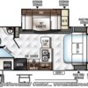 2019 Forest River Rockwood Mini Lite 2509S floorplan image