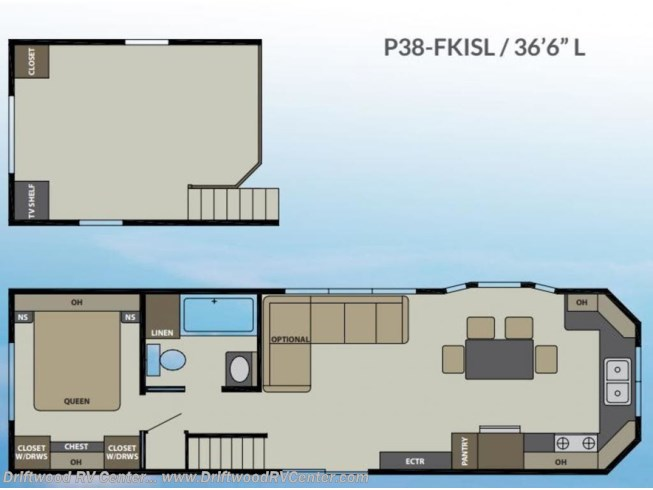 New 2020 Canterbury RV Parkvue P38-FKISL available in Clermont, New Jersey