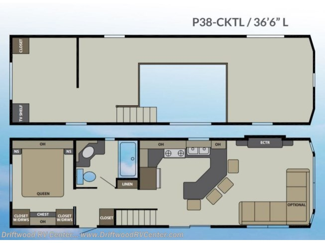 New 2021 Canterbury RV Parkvue 38CKTL available in Clermont, New Jersey