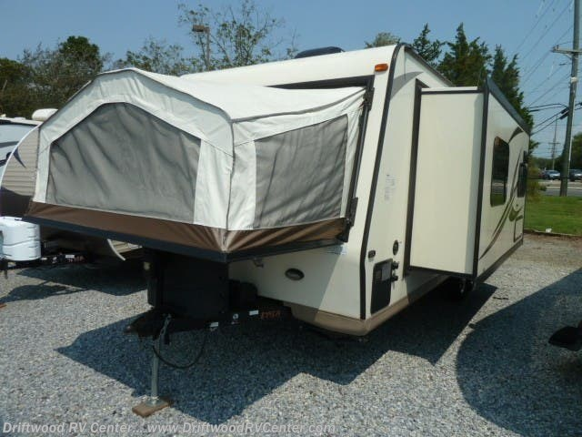 2017 Forest River Rockwood Roo 23WS - Used Travel Trailer For Sale by Driftwood RV Center in Clermont, New Jersey
