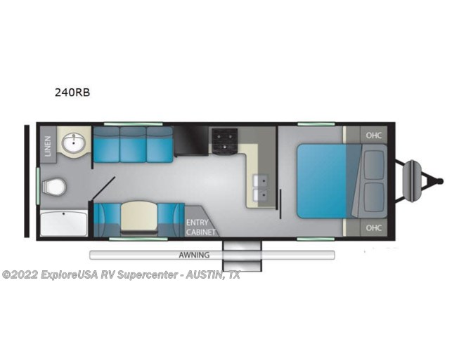 2020 Heartland Prowler 240RB - New Travel Trailer For Sale by ExploreUSA RV Supercenter - KYLE, TX in Kyle, Texas