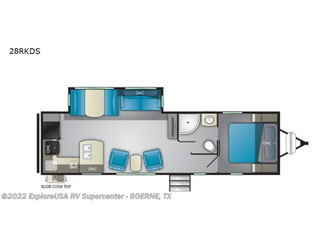 2021 Heartland North Trail 28RKDS - New Travel Trailer For Sale by ExploreUSA RV Supercenter - BOERNE, TX in Boerne, Texas features Slideout