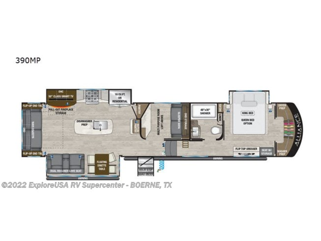 New 2021 Alliance RV Paradigm 390MP available in Boerne, Texas