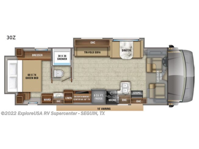2021 Jayco Greyhawk 30Z - New Class C For Sale by ExploreUSA RV Supercenter - SEGUIN, TX in Seguin, Texas features Slideout