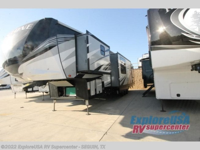 2018 Heartland Cyclone 4005 - Used Toy Hauler For Sale by ExploreUSA RV Supercenter - SEGUIN, TX in Seguin, Texas