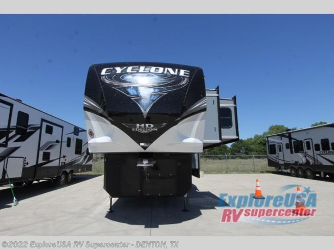 New 2021 Heartland Cyclone 4007 available in Denton, Texas