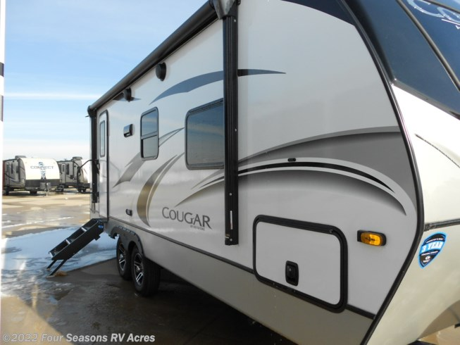 2021 Keystone Cougar Half-Ton 22RBS - New Travel Trailer For Sale by Four Seasons RV Acres in Abilene, Kansas features Spare Tire Kit, DVD Player, Roof Vents, CO Detector, TV