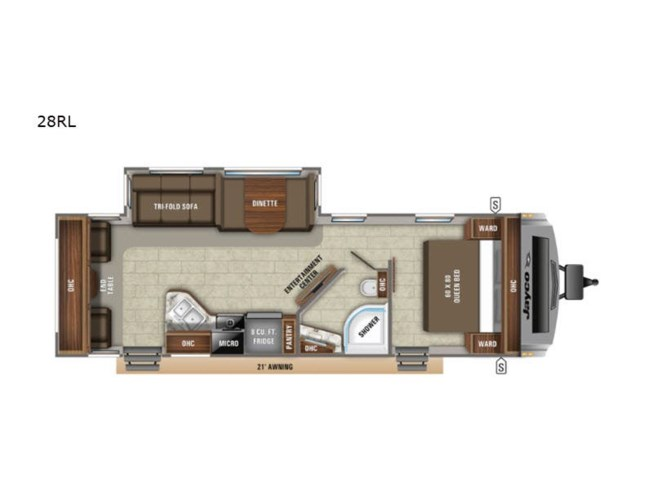 New 2020 Jayco White Hawk 28RL available in Souderton, Pennsylvania