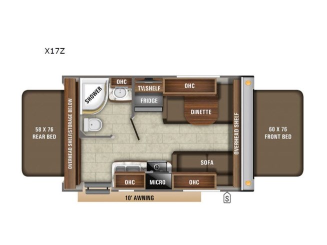 New 2020 Jayco Jay Feather X17Z available in Souderton, Pennsylvania