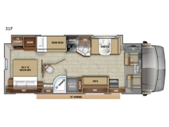 New 2020 Jayco Greyhawk 31F available in Souderton, Pennsylvania