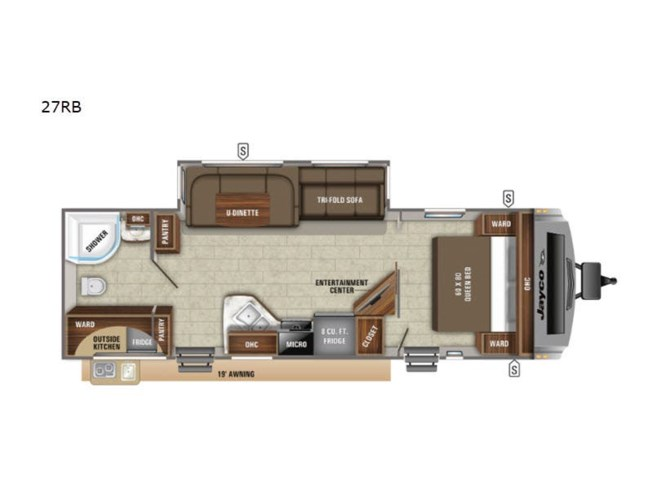 New 2021 Jayco White Hawk 27RB available in Souderton, Pennsylvania