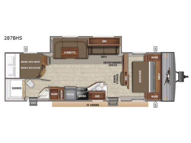 New 2021 Jayco Jay Flight SLX 8 287BHS available in Souderton, Pennsylvania