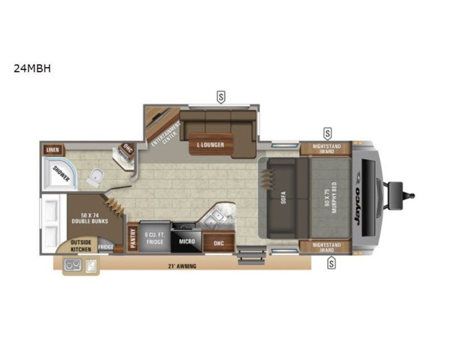 New 2021 Jayco White Hawk 24MBH available in Souderton, Pennsylvania