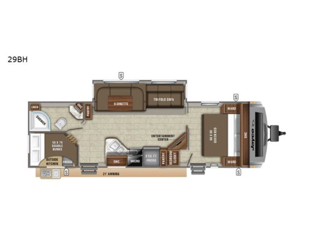 New 2021 Jayco White Hawk 29BH available in Souderton, Pennsylvania