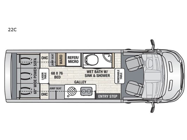 New 2021 Coachmen Beyond 22C RWD available in Souderton, Pennsylvania
