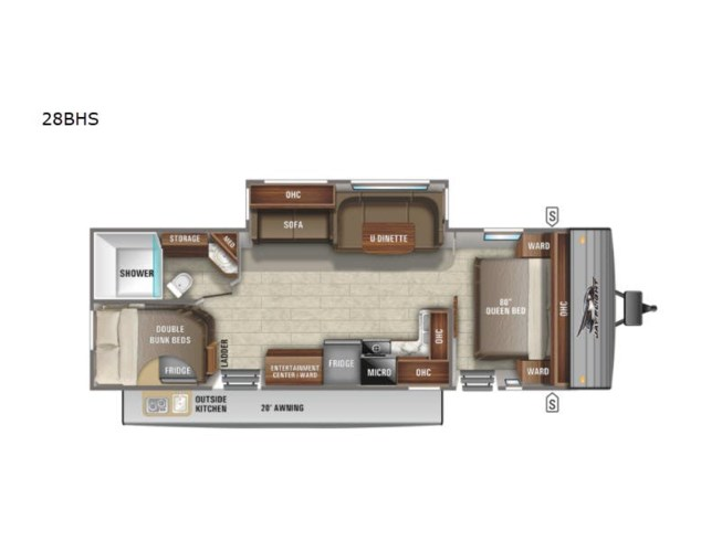 New 2021 Jayco Jay Flight 28BHS available in Souderton, Pennsylvania