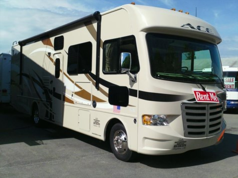 Used 2015 Thor Motor Coach A.C.E. 30.2 For Sale by Fuller Motorhome Sales & Rentals available in Boylston, Massachusetts