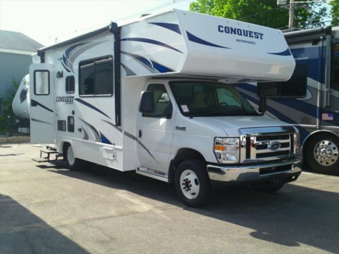 Used 2017 Gulf Stream Conquest 6256 For Sale by Fuller Motorhome Sales & Rentals available in Boylston, Massachusetts
