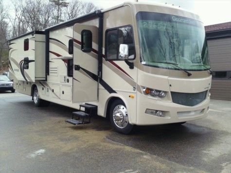 Used 2018 Forest River Georgetown 5 Series GT5 GTA36B5 For Sale by Fuller Motorhome Sales & Rentals available in Boylston, Massachusetts