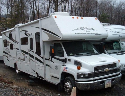 Used 2008 Gulf Stream Conquest Yellowstone Super C 6341 For Sale by Fuller Motorhome Sales & Rentals available in Boylston, Massachusetts