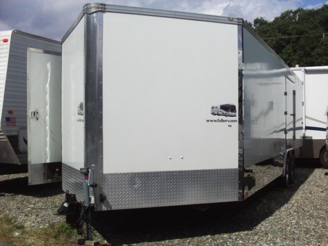 Used 2005 Innovator Trailers Enclosed Vehicle Trailer For Sale by Fuller Motorhome Rentals available in Boylston, Massachusetts