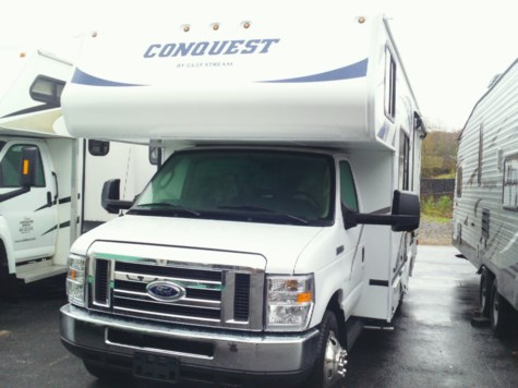 New 2019 Gulf Stream Conquest 6220 For Sale by Fuller Motorhome Sales & Rentals available in Boylston, Massachusetts