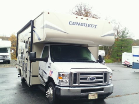 New 2019 Gulf Stream Conquest Class C 6245 For Sale by Fuller Motorhome Sales & Rentals available in Boylston, Massachusetts