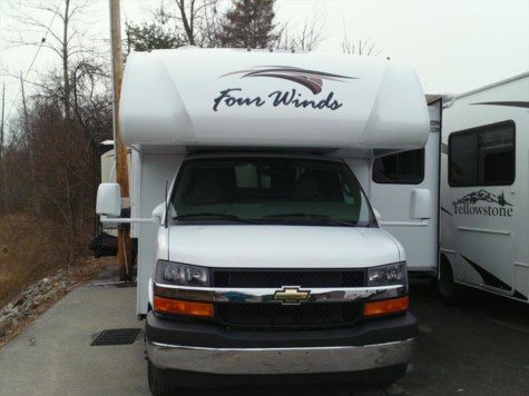 New 2019 Thor Motor Coach Four Winds 24F For Sale by Fuller Motorhome Rentals available in Boylston, Massachusetts