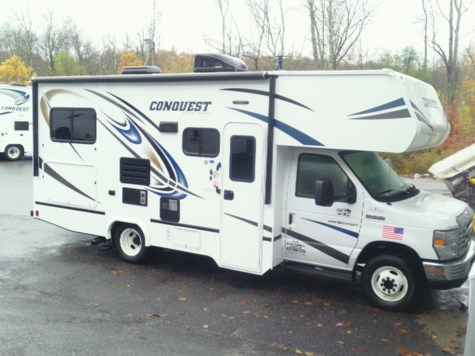 New 2019 Gulf Stream Conquest 6237LE For Sale by Fuller Motorhome Rentals available in Boylston, Massachusetts