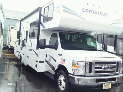 New 2019 Gulf Stream Conquest Class C 6280 For Sale by Fuller Motorhome Sales & Rentals available in Boylston, Massachusetts