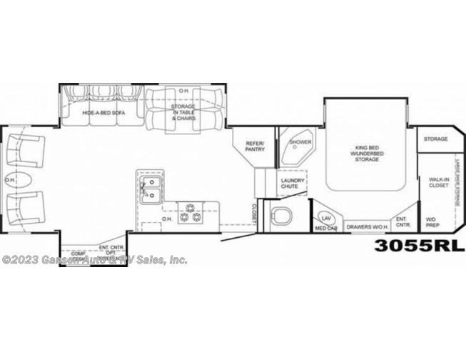 2009 Heartland Big Horn 3055rl Rv For Sale In Riceville Ia 50466 U7006 Rvusa Com Classifieds