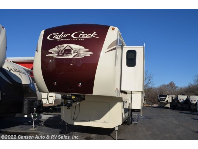 New 2018 Forest River Cedar Creek Hathaway Edition 34RL2 available in Riceville, Iowa