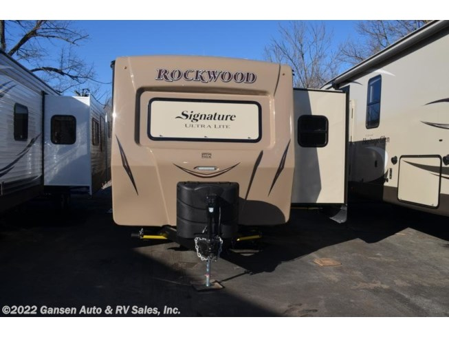 New 2017 Forest River Rockwood Signature Ultra Lite 8293IKRBS available in Riceville, Iowa